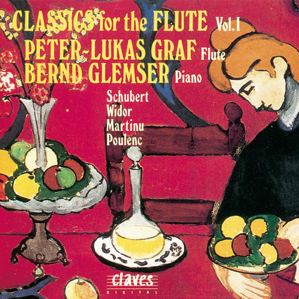 (1993) Classics for Flute, Vol. I / CD 9306 - Claves Records