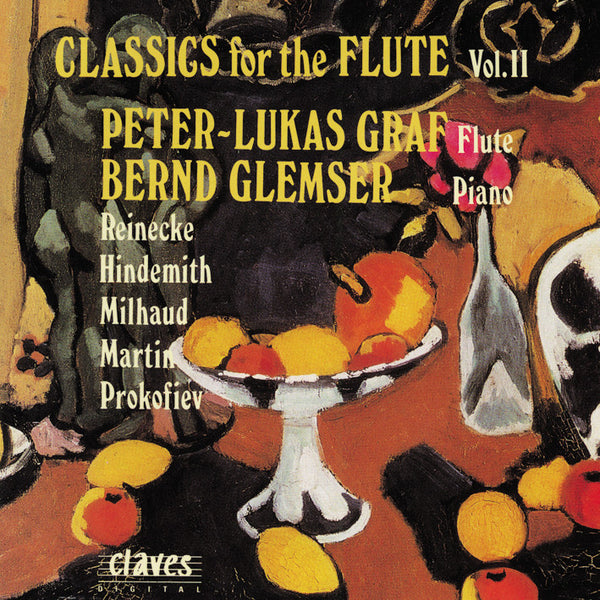 (1994) Classics for Flute, Vol. II - CD 9307 - Claves Records