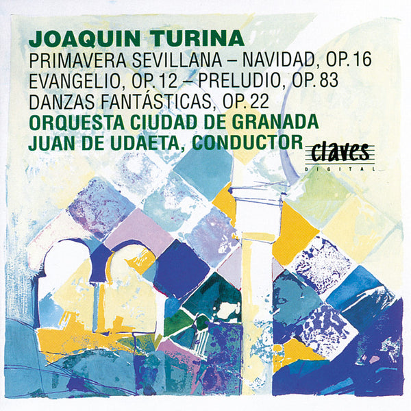 (1994) Joaquín Turina Vol. II / CD 9310 - Claves Records