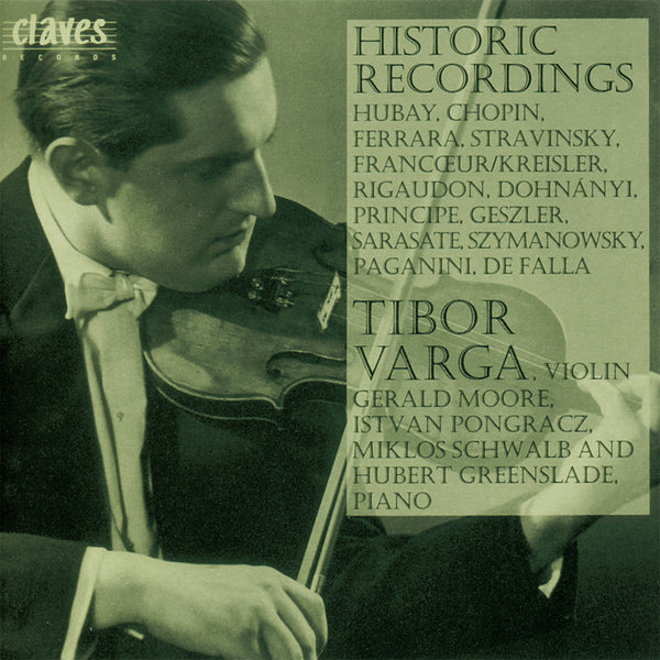 (1993) The Tibor Varga Collection, Vol. IV / CD 9314 - Claves Records
