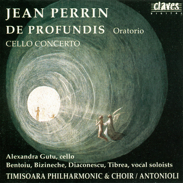 (1993) Jean Perrin: De Profundis / Cello Concerto - CD 9315 - Claves Records