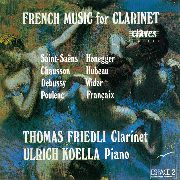 (1993) French Music for Clarinet / CD 9322 - Claves Records