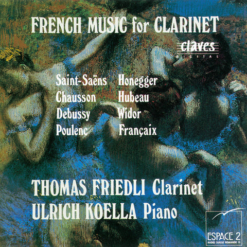 (1993) French Music for Clarinet