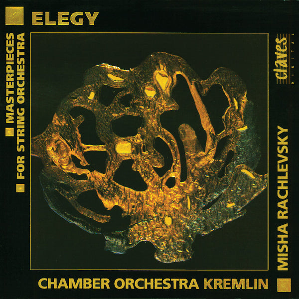 (1993) Elegy: Masterpieces For String Orchestra / CD 9325 - Claves Records