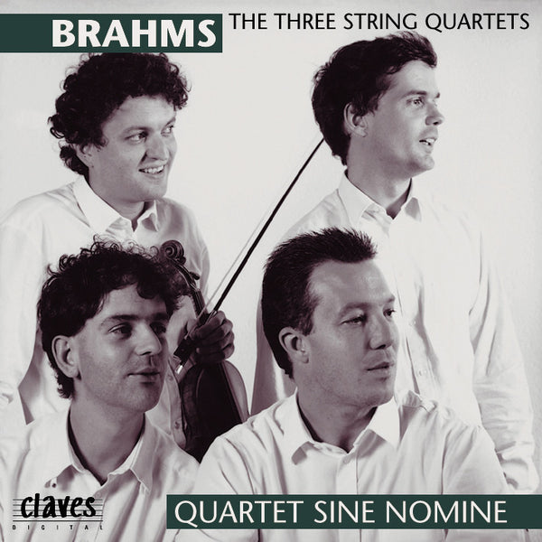 (1994) Brahms: Complete String Quartets / CD 9404-5 - Claves Records