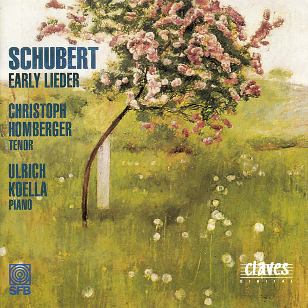 (1994) Franz Schubert: Early Lieder - CD 9406 - Claves Records