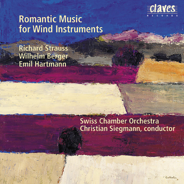 (1998) Romantic Music for Wind Instruments & Double Bass / CD 9409 - Claves Records