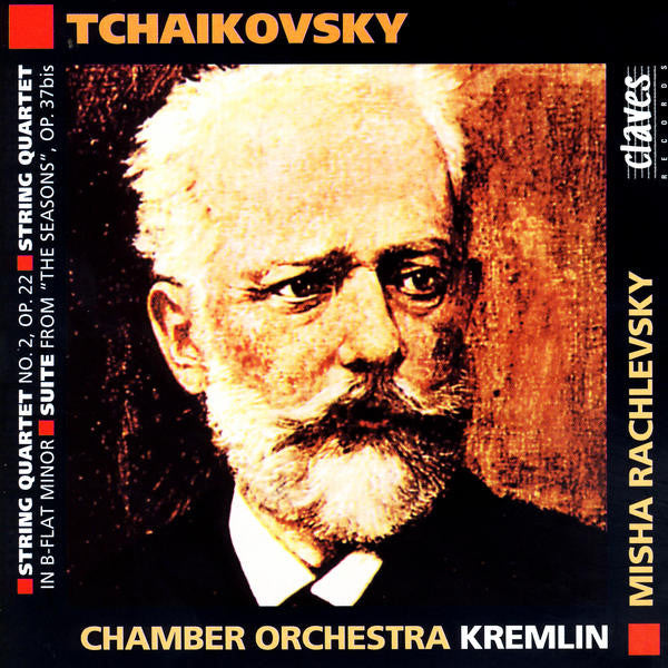 (1996) Tchaikovsky: Works for String Orchestra, Vol. 3 / CD 9414 - Claves Records