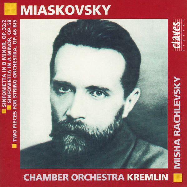 (1994) Miaskovski: Music for Strings / CD 9415 - Claves Records