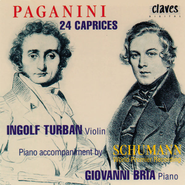 (1994) Niccolò Paganini: 24 Caprices, Op. 1 - CD 9416 - Claves Records