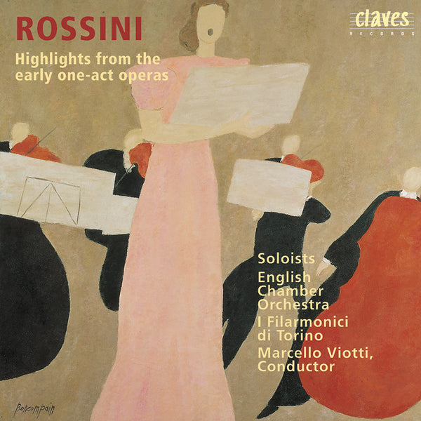 (1994) Rossini: Hoehepunkte Ein-Akt-Opern / CD 9418 - Claves Records