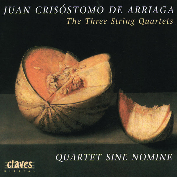(1995) Arriaga: The Three String Quartets - CD 9501 - Claves Records