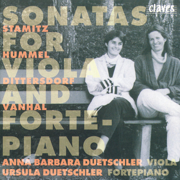 (1995) Classical Sonatas for Viola & Fortepiano / CD 9502 - Claves Records