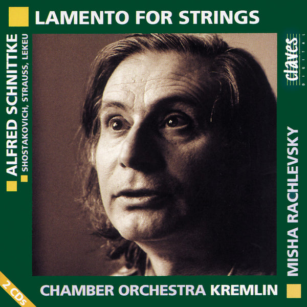(1995) Lamento for Strings / CD 9504-5 - Claves Records