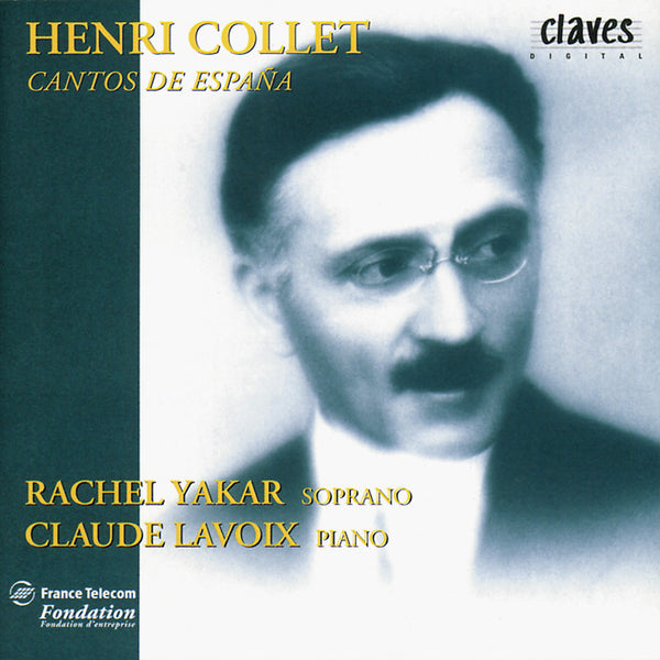 (1995) Henri Collet: Cantos De España - CD 9506 - Claves Records