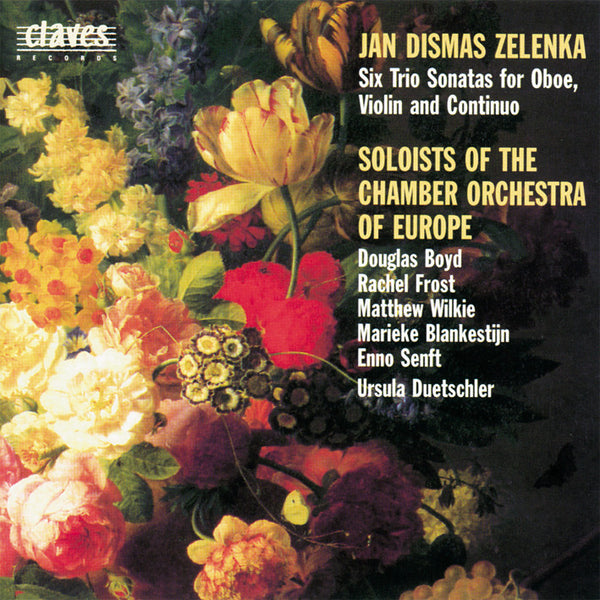 (1995) Jan Dismas Zelenka: Six Trio Sonatas For Oboe, Violin & Continuo (Z 181) - CD 9511-12 - Claves Records