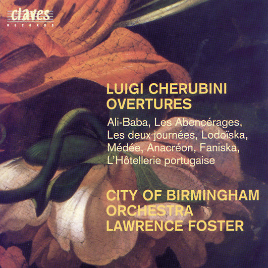 (1996) Luigi Cherubini: Ouvertures / CD 9513 - Claves Records