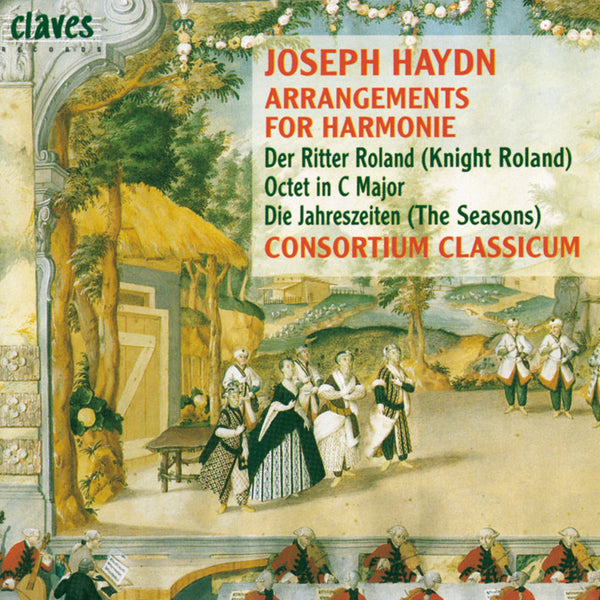(1996) Joseph Haydn: Arrangements For Harmonie / CD 9515 - Claves Records