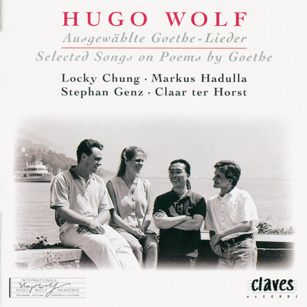 (1995) Hugo Wolf: Goethe Lieder - CD 9517 - Claves Records