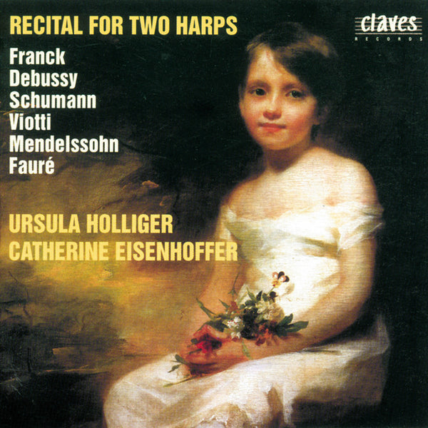 (1996) Recital For Two Harps - CD 9603 - Claves Records