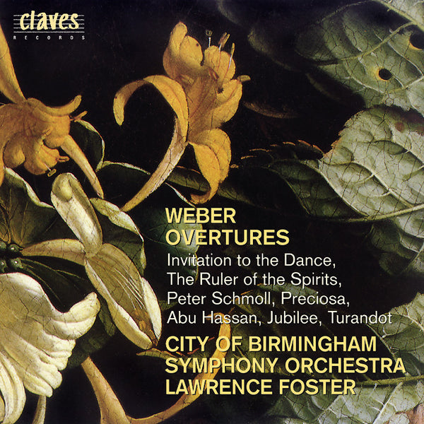 (1997) Weber: Overtures - CD 9605 - Claves Records