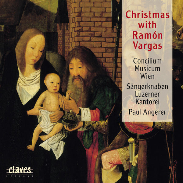 (1996) Christmas With Ramón Vargas - CD 9612 - Claves Records