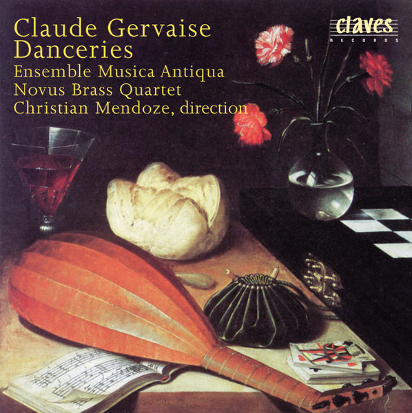 (1997) Claude Gervaise : Danceries (A quatre parties) / CD 9616 - Claves Records
