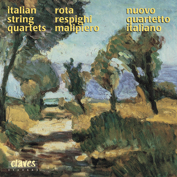 (1997) Three Italian String Quartets - CD 9617 - Claves Records