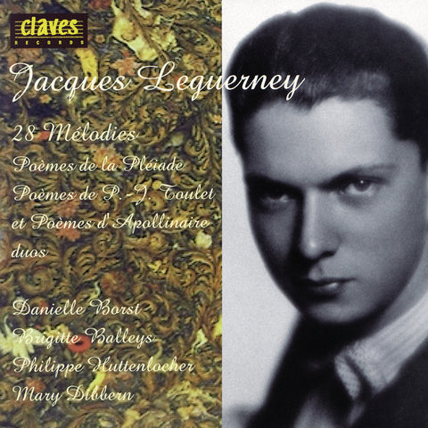 (1996) Jacques Leguerney: 28 Mélodies