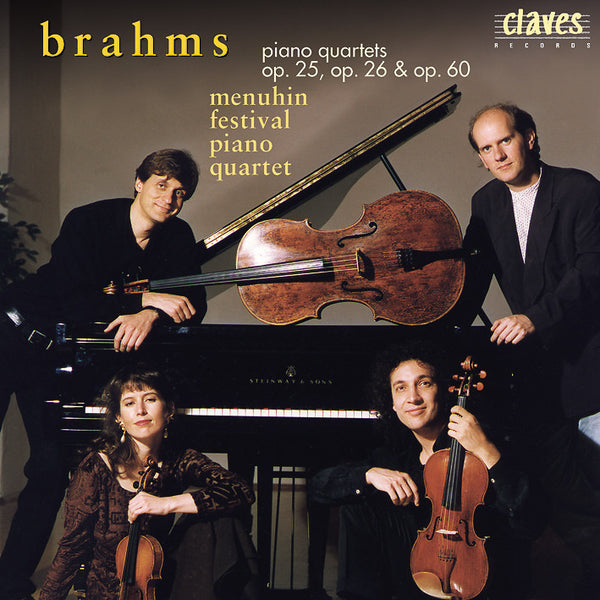 (1998) Brahms: The Three Piano Quartets / CD 9701-2 - Claves Records