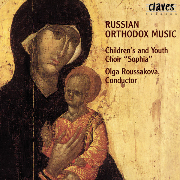 (1998) Russian Orthodox Music / CD 9804 - Claves Records