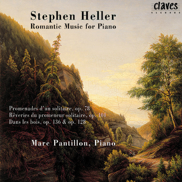 (1998) Stephen Heller: Romantic Music for Piano / CD 9805 - Claves Records
