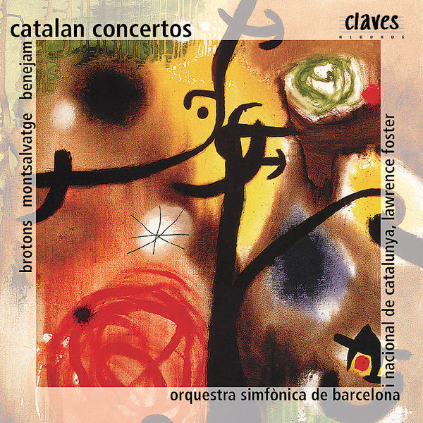 (1998) Catalan Concertos / CD 9808 - Claves Records
