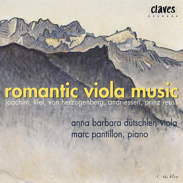 (2000) Romantic Viola Music - CD 9905 - Claves Records