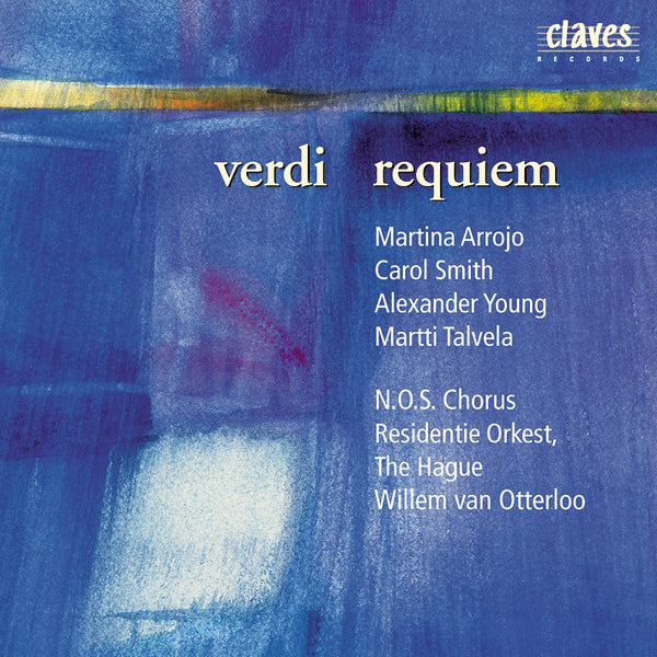 (1999) Verdi: Requiem (Live Recording, The Hague 1970) - CD 9911 - Claves Records