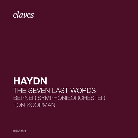 (2020) Joseph Haydn: The Seven Last Words of Christ, Hob.XX/1