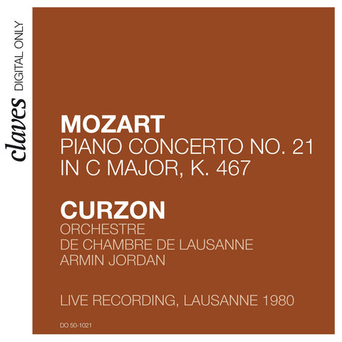 "(2009) Mozart: Piano Concerto No. 21 in C Major, K. 467 ""Elvira Madigan"" (Live in Lausanne 1980)"