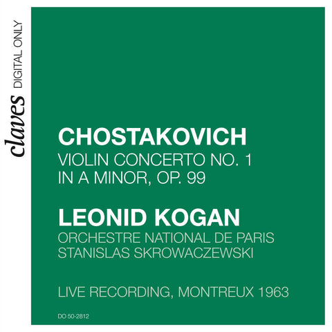 (2008) Shostakovich: Violin Concerto No. 1 in A Minor, Op. 99 (Live Recording, Montreux 1963)