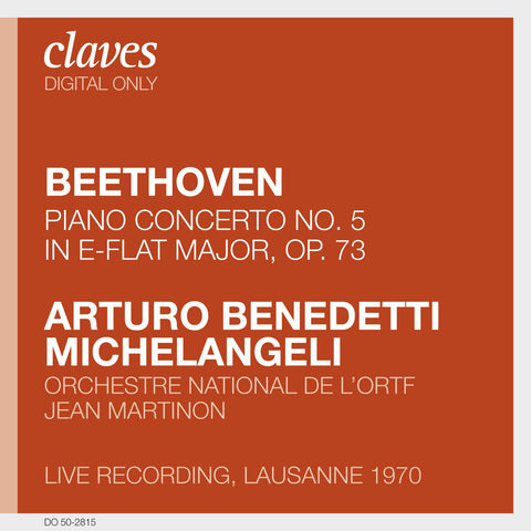 "(2008) Beethoven: Piano Concerto No. 5 in E-Flat Major, Op. 73, ""Emperor"" (Live Recording, Lausanne 1970)"