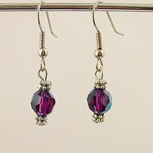 Charkra Crystal Earrings