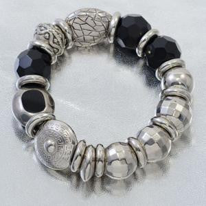 Luminous Stretch Bracelet Black