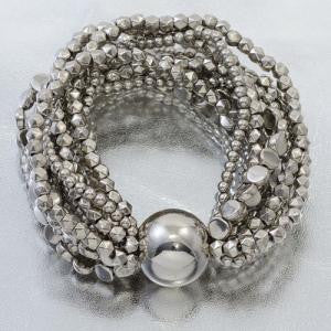 Silver Willow Stretch Bracelet