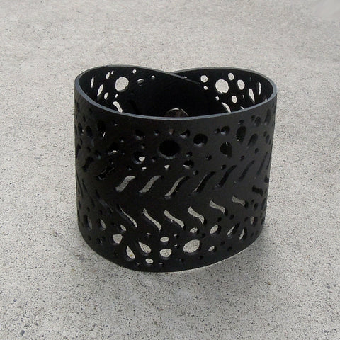 TRACK Recycled Tire Bracelet