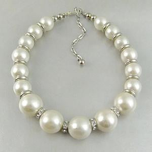 Annabel Faux Pearl Necklace