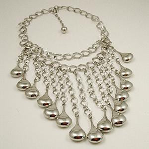 Cleopatra Tear Drops Necklace