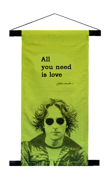 John Lennon 'All You Need Is Love' Mini Wall Banner