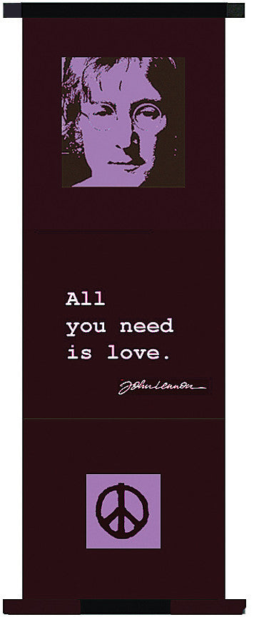 "Wall Banner ""All You Need Is Love"""