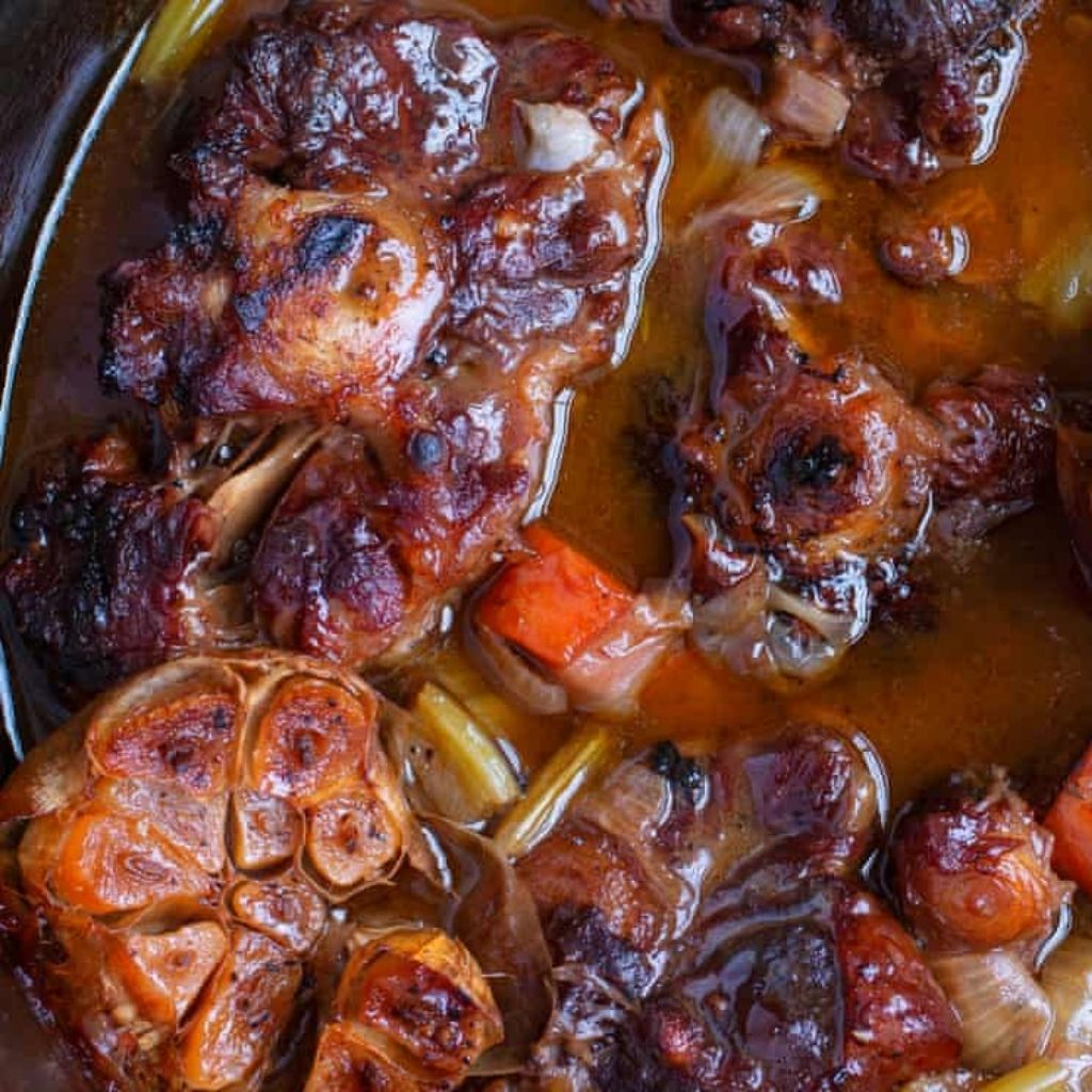 Slow Cooked Winter Comfort: Oxtail Stew