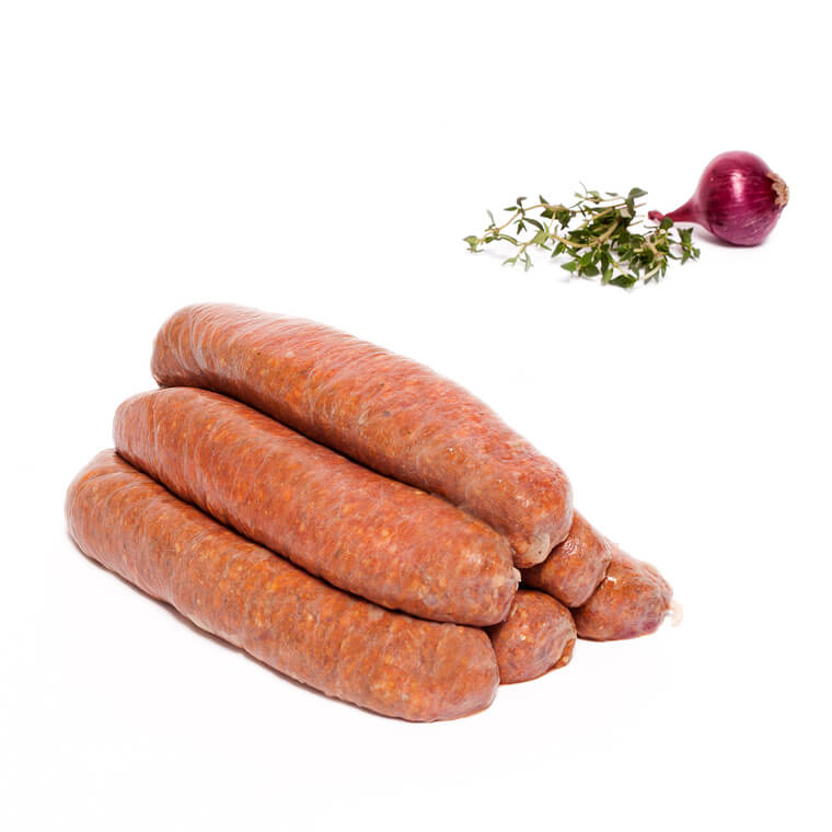 Olliffe Butcher Red Rooster Sausage
