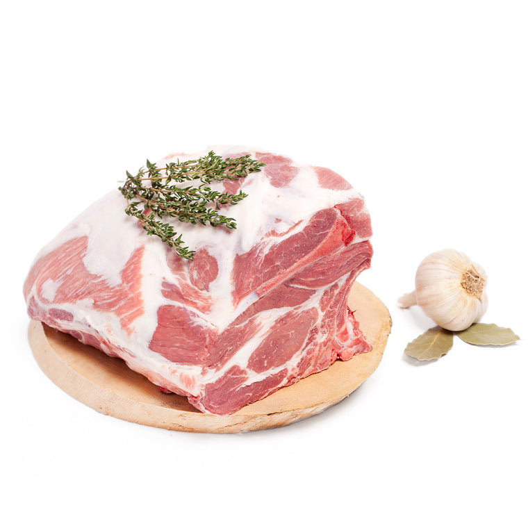 Olliffe Butcher Tamworth Bone in pork shoulder